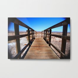 Pit Path Metal Print