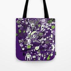 Print Brigade Collage Tote Bag