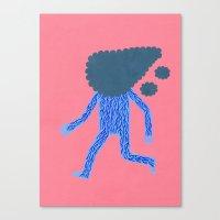 run Canvas Prints featuring Run by Jack Teagle