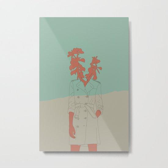 Woman Nature 1 Metal Print