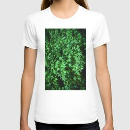 Military support Glow Japanese Maple T-shirt