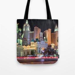 New York New York, Las Vegas Tote Bag