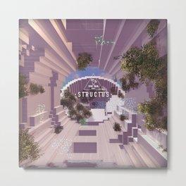 STRUCTUS #1 Metal Print