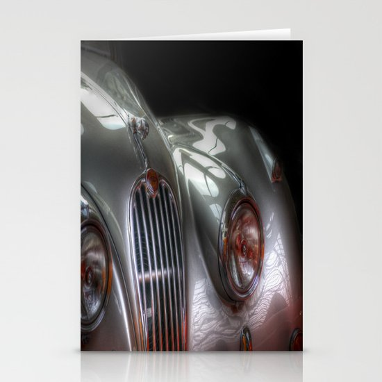 Silver Jag Stationery Cards