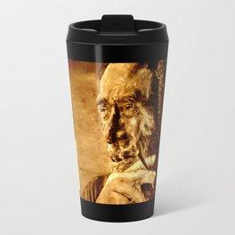 Charles Bukowski - love version Travel Mug