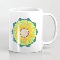 turtle Mugs featuring Turtle by Tehaya