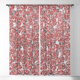 Ladybug Love Sheer Curtain