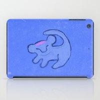 simba iPad Cases featuring simba by studiomarshallarts