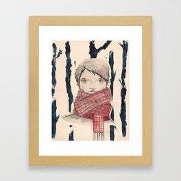 El del Bosc (A Forest) Framed Art Print
