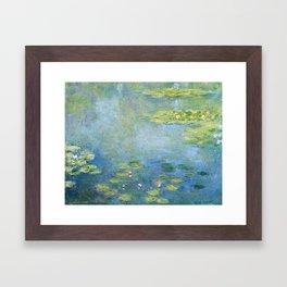 Water Lilies 1906 by Claude Monet Framed Art Print