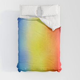 Flag of romania 7 - with cloudy colors Comforters