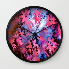 Pink Dubbed Wall Clock