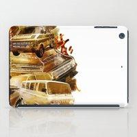 vans iPad Cases featuring URBAN VANS by les83machines
