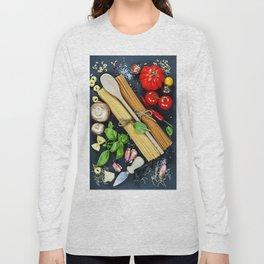 Italian ingredient Long Sleeve T-shirt