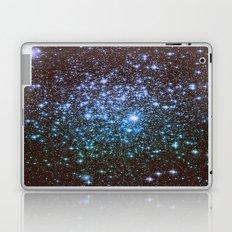 Winter Blues Galaxy Stars Laptop & iPad Skin