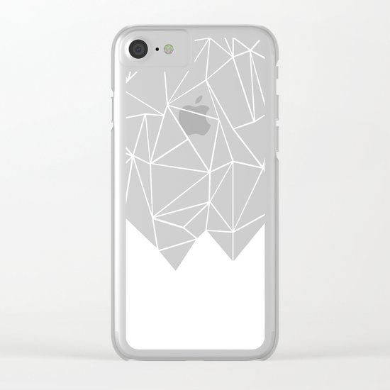 Ab Triangulation Clear iPhone Case