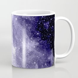 Carina Nebula Muted Violet Coffee Mug
