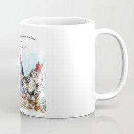 Three French Hens Coffee Mug