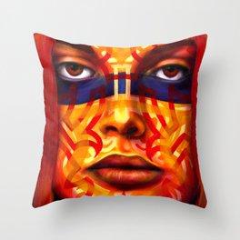 Samnation09-08 Throw Pillow