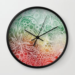 Christmas Bling Wall Clock