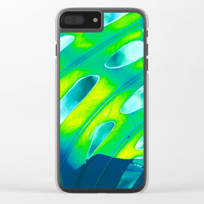 Tropical Exuberance III Clear iPhone Case