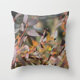Young Leaves Throw Pillow