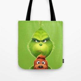 Grinch Tote Bag