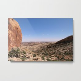 Comb Ridge Metal Print