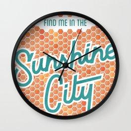 Sunshine City Wall Clock