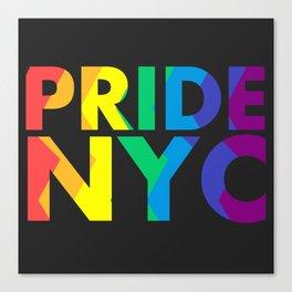 PRIDE NYC Canvas Print