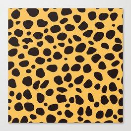 Cheetah Pattern_A Canvas Print