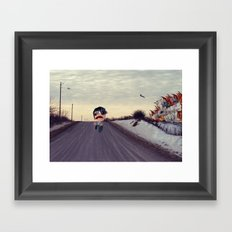 Monsters Framed Art Print