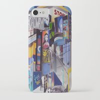 broadway iPhone & iPod Cases featuring Broadway by Grettyworks