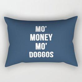 Mo' Money Mo' Doggos Rectangular Pillow