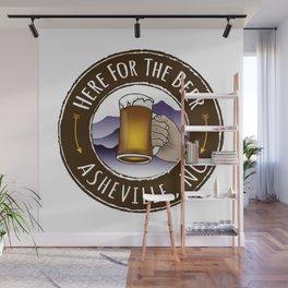 Asheville Beer - AVL 6 Full Color Wall Mural