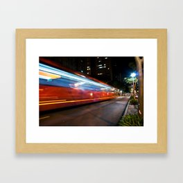 Biarticulado (1) Framed Art Print