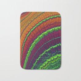 Watermelon Pulse - Fractal Art Bath Mat