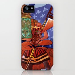 marie antoinette steampunk iPhone Case
