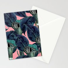 Tropical Flower Pattern #society6 #decor #buyart Stationery Cards