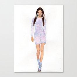 Supermodel Joan Canvas Print