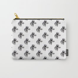Seamless Background Astronaut Carry-All Pouch