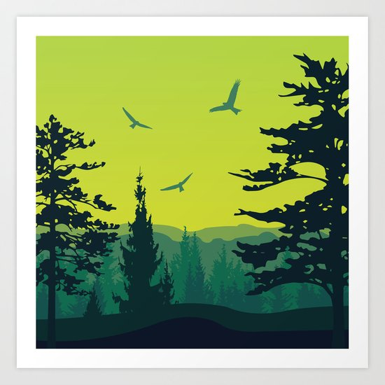 My Nature Collection No. 13 Art Print
