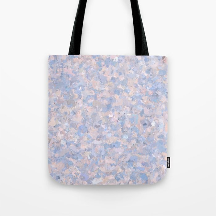Light pink and blue popcorn 4647 Tote Bag