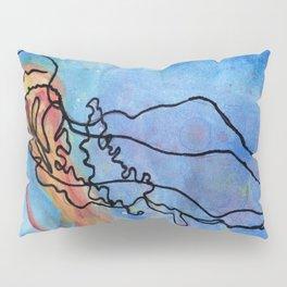 Jellyfish meet Jellyfish Pillow Sham