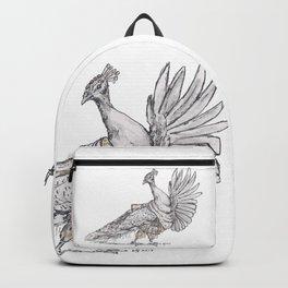 Tiny Dancer - Bollywood Peacock Backpack
