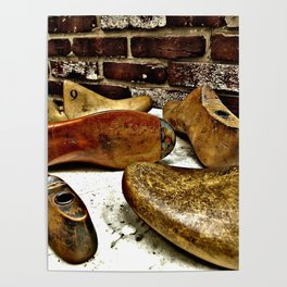 Shoe Maker 2 Photography Poster