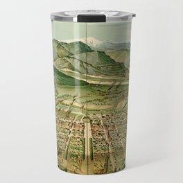 Vintage Colorado Springs and Pikes Peak Map (1890) Travel Mug
