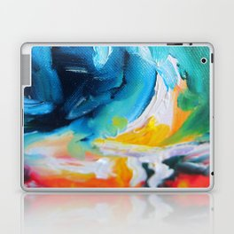 Oasis on Fire Laptop & iPad Skin