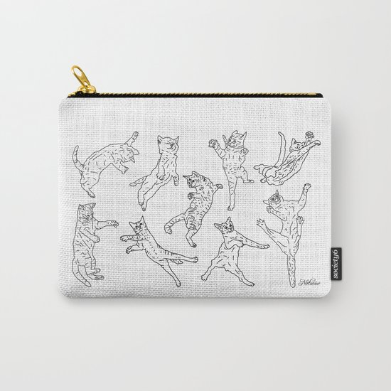 Flying Cats Carry-All Pouch