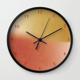 Summer Weight Wall Clock